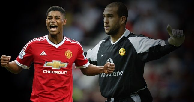 Marcus Rashford's idol at Manchester United might surprise you