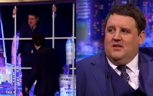 WATCH: Peter Kay causes havoc on Jonathan Ross Show