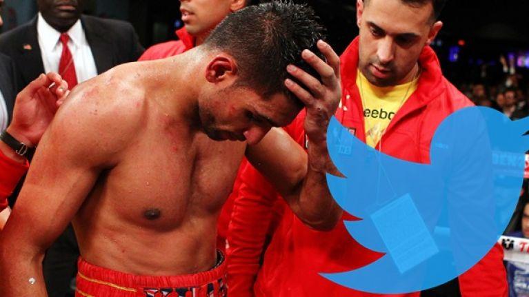 Amir Khan definitely regrets posting this 2012 tweet