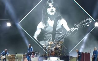 Foo Fighters paid a classy tribute to AC/DC's legendary guitarist and founder, Malcolm Young