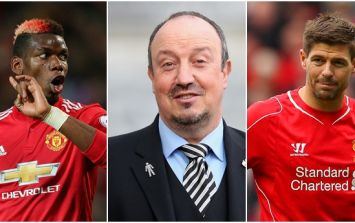 Manchester United fans not happy with Rafa Benitez's comments about Paul Pogba