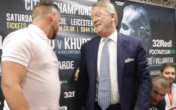You definitely can't accuse Billy Joe Saunders of being overweight anymore