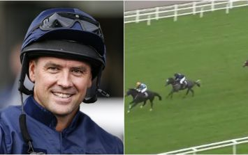 Michael Owen made his debut as a jockey and didn't do too badly at all