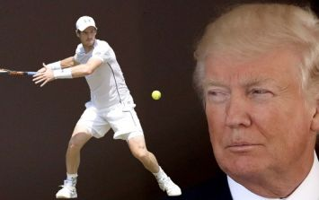 Andy Murray's trolling of Donald Trump has gone down a treat