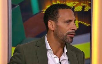 Rio Ferdinand reveals former teammate's peculiar pre-match superstition