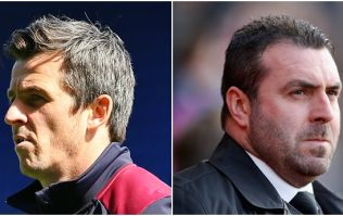 Joey Barton tore into David Unsworth after Everton were hammered by Southampton