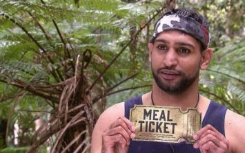 Here's why Amir Khan's meals on I'm A Celeb are different to the other campmates