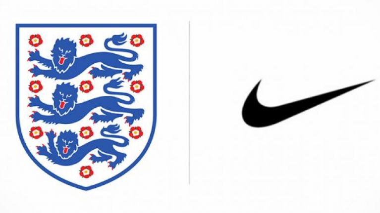 New 'leaked' image shows the kits England will wear at the World Cup
