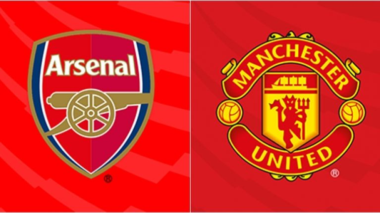Image result for manchester united arsenal logo