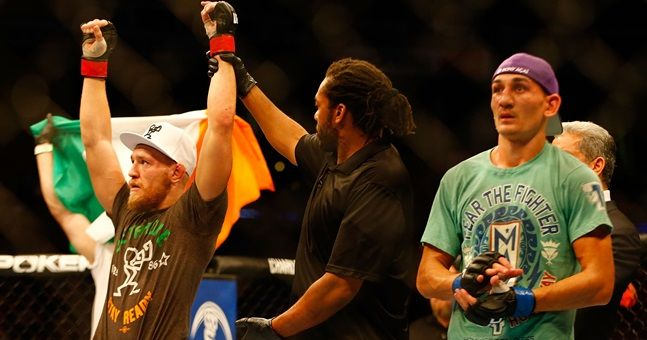 Max Holloway has not allowed Conor McGregor to get away with his Twitter dig