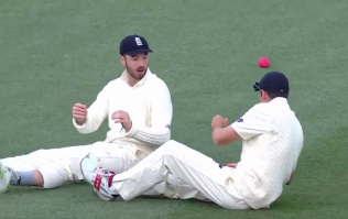 WATCH: England's miserable second day in Adelaide summed up by this botched catch