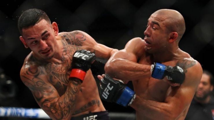 Max Holloway reveals what he said to Jose Aldo during their rematch