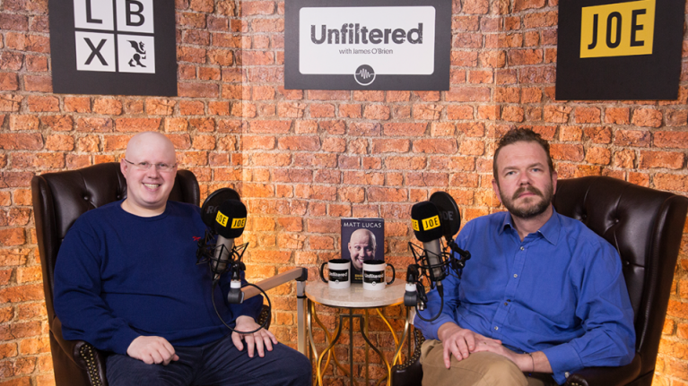 Unfiltered with James O'Brien | Episode 10: Matt Lucas