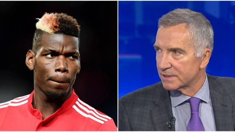 Graeme Souness' comments about Paul Pogba got a lot of people annoyed