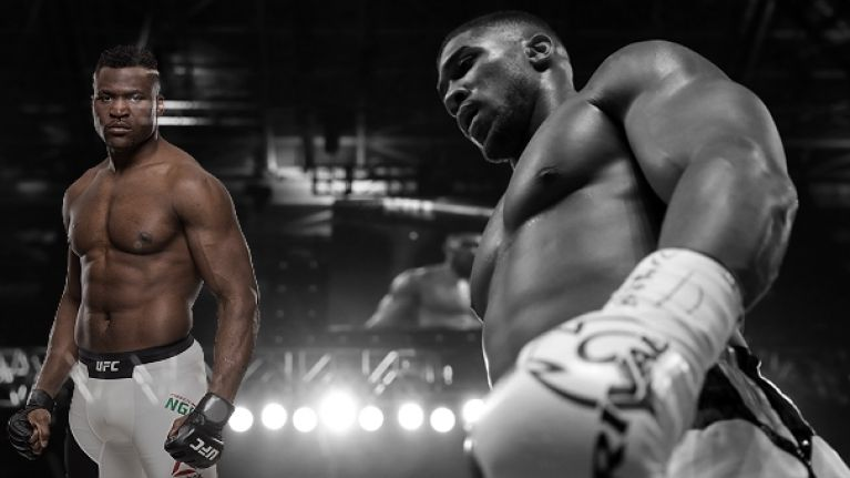 Anthony Joshua is being pursued by the scariest man in the UFC