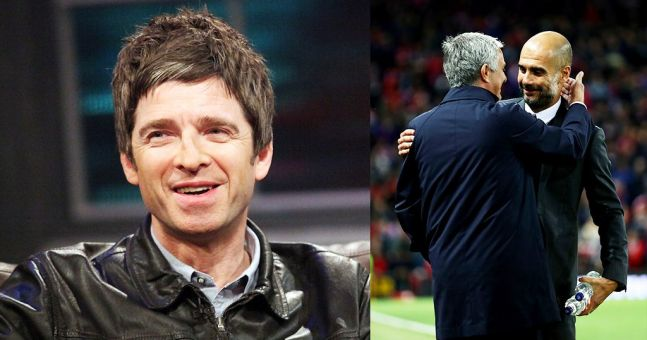 Noel Gallagher will be a studio guest for the Manchester Derby on Super Sunday