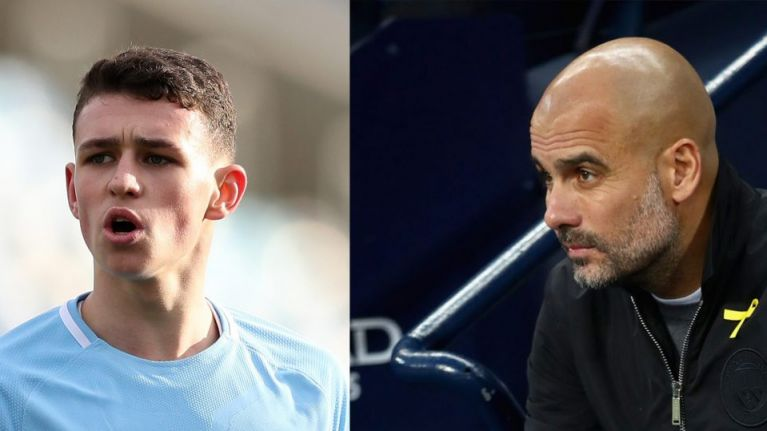 Man City fans are all asking the same question as Phil Foden makes first start