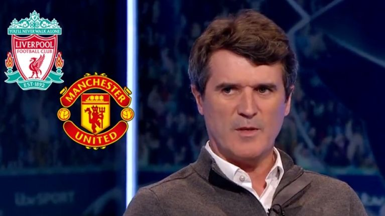 Roy Keane has very different views on chances of Champions League success for Manchester United and Liverpool