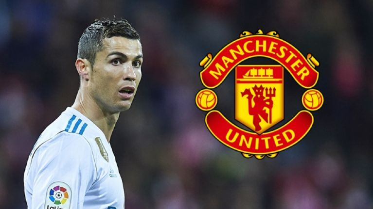 d0be73a21f2 Cristiano Ronaldo thanked three former Manchester United players when  collecting the Ballon d Or