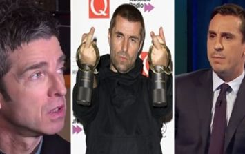Liam Gallagher reckons Noel and Gary Neville are 'a pair of wankers'