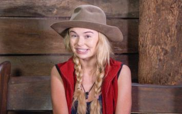 Toff literally couldn't believe that she'd been crowned Queen of the Jungle