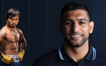 Amir Khan criticised for tweet to Manny Pacquiao