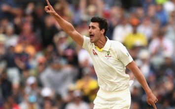 WATCH: Mitchell Starc bowls James Vince with ball of the century