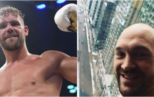 Tyson Fury has made a confident claim about Billy Joe Saunders' probable next fight