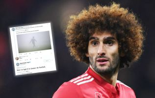 Manchester City Twitter account makes bizarre dig at Marouane Fellaini