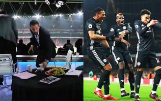 WATCH: Rio Ferdinand shares studio footage of his reaction to Manchester United's 3-1 victory at Arsenal