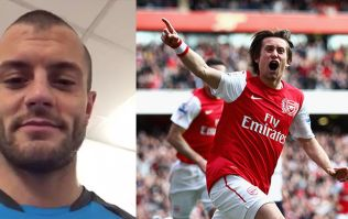 WATCH: Jack Wilshere posts special message for retiring Tomas Rosicky