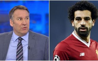 Paul Merson has left Mohamed Salah out of his team of the season so far