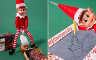 Poundland's rogue and racy Elf is very bizarre
