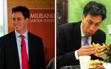 Ed Miliband's official Christmas card really has to be seen to be believed