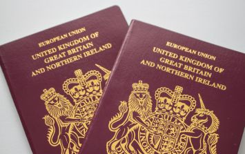 The blue passports are back but there's one glaring issue