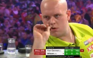 Michael van Gerwen is just stupidly good at darts