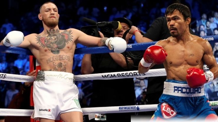 Manny Pacquiao is absolutely desperate for Conor McGregor fight