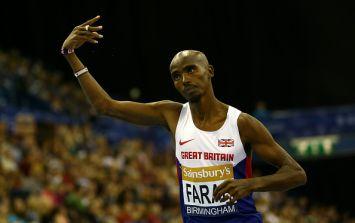 Mo Farah ran an absolute blinder in the Lisbon half marathon...