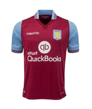 Aston Villa: Not a bad effort with a nice collar, but the sponsor is still a bit too large - 7/10