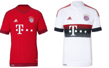 The best European football kits for 2015/16 (gallery)