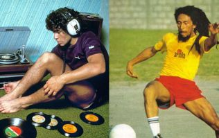 Diego Maradona 'singing' Bob Marley is something to behold