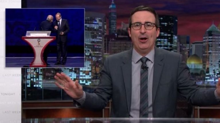 Watch British comedian John Oliver hilariously hammer Fifa yet again (Video)