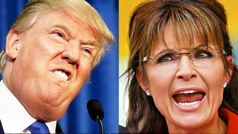 Be very afraid world - Donald Trump would love Sarah Palin to join his team
