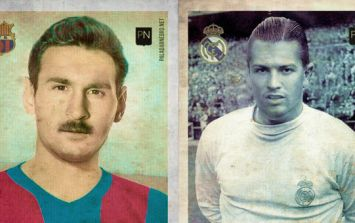 Spanish artists reimagine Messi and Ronaldo as olde-time players