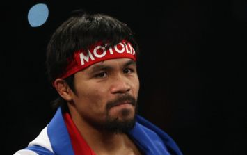Manny Pacquiao's shorts are worth a cool $2.2m