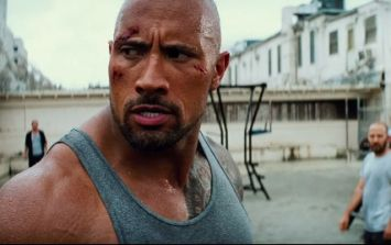 The Rock looking seriously huge for new comedy cop movie