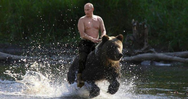 President Putin Is The New Face Of Instagram Fitness Inspiration Pics Joe Co Uk