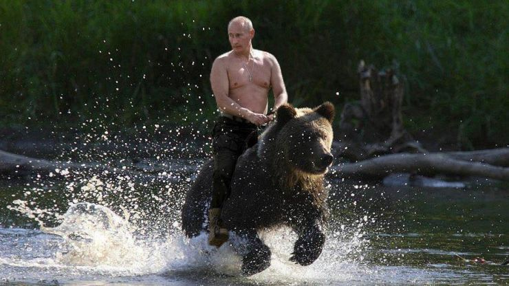 President Putin is the new face of Instagram fitness inspiration (Pics)