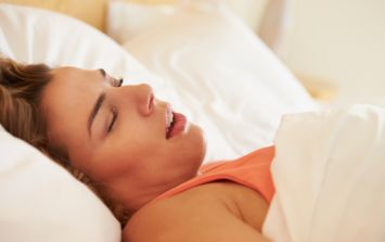 Infographic: Here's how to stop your girlfriend snoring (without a pillow)