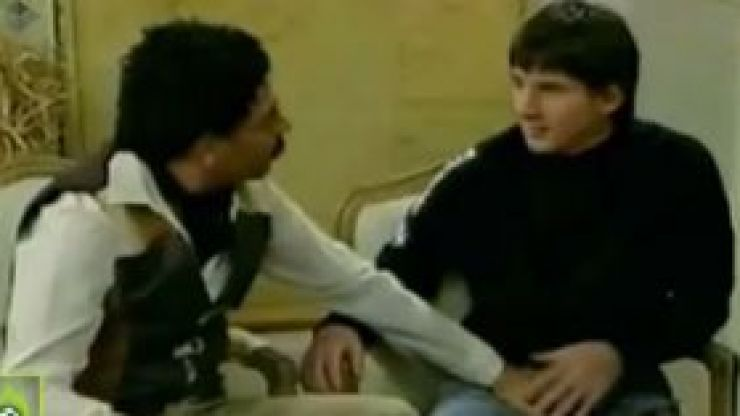 Footage emerges of unhappy Lionel Messi being molested on Argentinian TV
